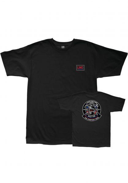 Loser-Machine T-Shirts Everyday Hero black vorderansicht 0322839