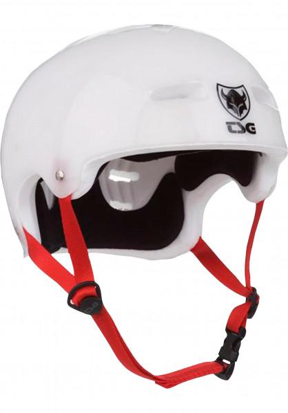 TSG Helme Evolution Graphic Special clear-white Vorderansicht