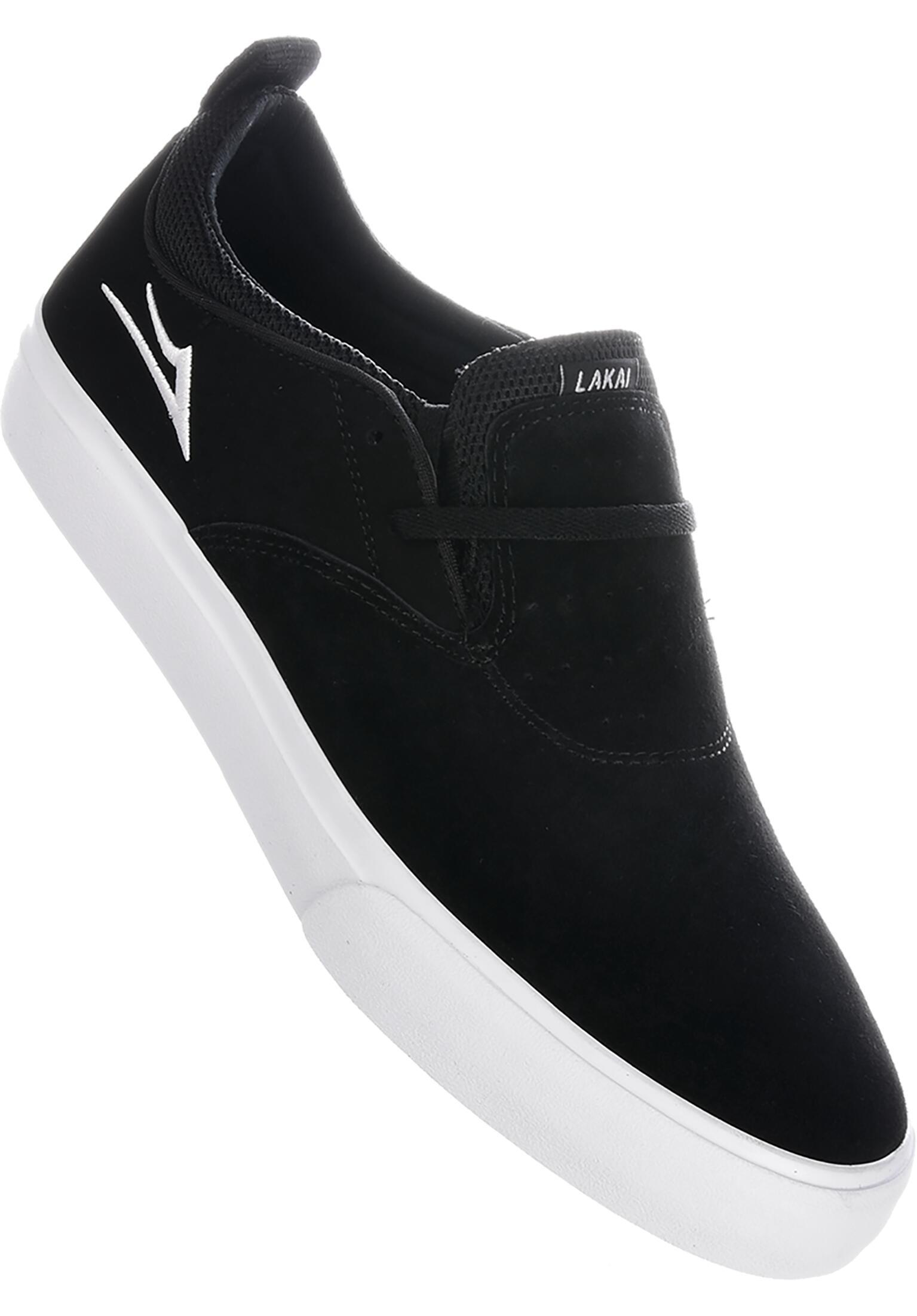 16301b6574d8 Riley 2 Lakai All Shoes in black-white for Men | Titus