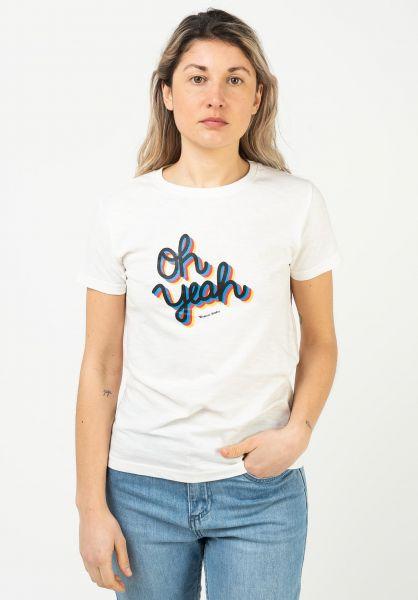 Wemoto T-Shirts Yeah offwhite vorderansicht 0322820