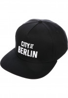 TITUS-Caps-City-of-BERLIN-Snapback-black-Vorderansicht