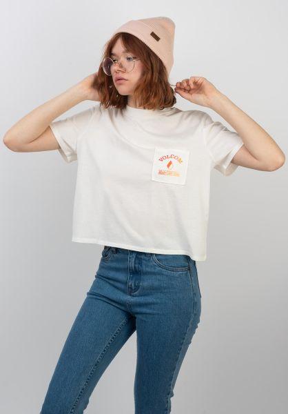 Volcom T-Shirts Made From Stoke starwhite vorderansicht 0399657