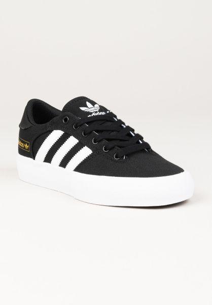 adidas Alle Schuhe Matchbreak Super coreblack-white-gold vorderansicht 0612560