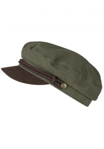 Brixton Hüte Fiddler army-bison vorderansicht 0580162
