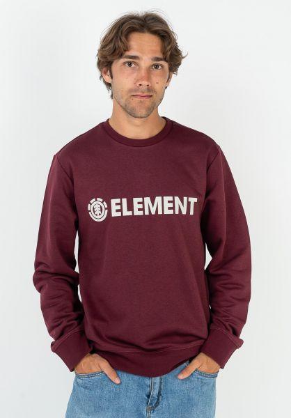 Element Sweatshirts und Pullover Blazin vintagered vorderansicht 0423044
