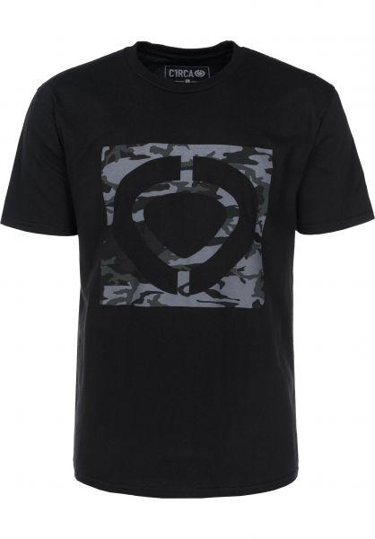 C1RCA T-Shirts Military Square black Vorderansicht