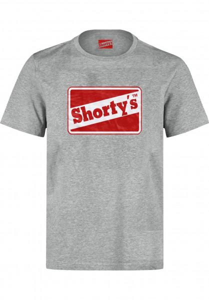 Shortys T-Shirts OG Logo grey Vorderansicht