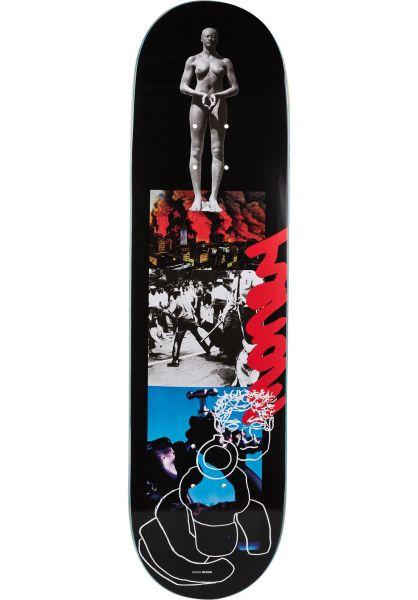 Quasi Skateboard Decks Davis Warzone black vorderansicht 0261794