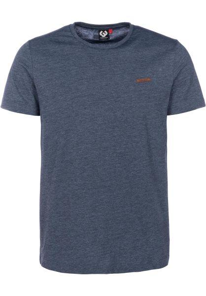 Ragwear T-Shirts Nedie navy vorderansicht 0399926