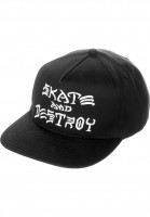 Thrasher-Caps-Skate-Destroy-black-Vorderansicht