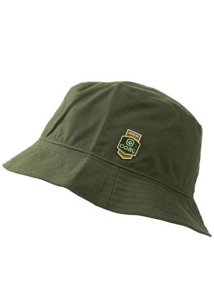 coal Hüte The Bushwood olive vorderansicht 0580392