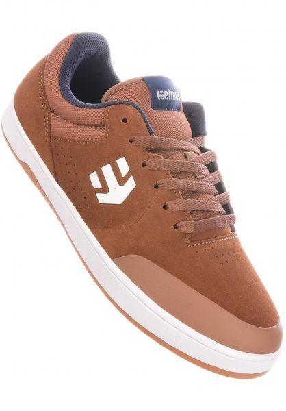 etnies Alle Schuhe Marana x Michelin brown-navy vorderansicht 0604316