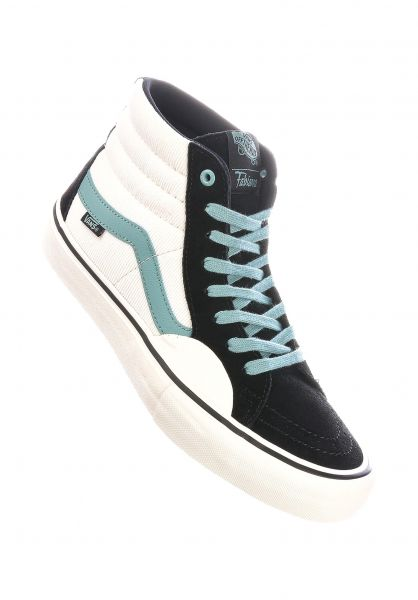 Vans Alle Schuhe Sk8-Hi Pro Fabiana Delfino black-blue vorderansicht 0612506