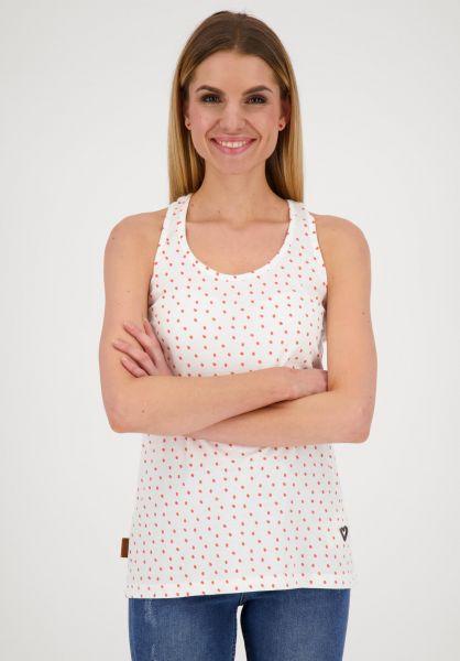 alife and kickin Tops Lucia Tanktop white 121 vorderansicht 0352542