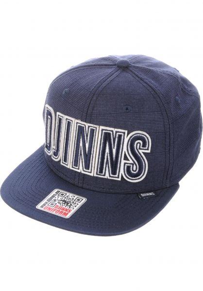 Djinns Caps 6P SB Glencheck 2.0 navy vorderansicht 0564634