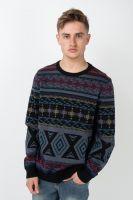iriedaily-strickpullover-indio-knit-darksteel-vorderansicht-0144037