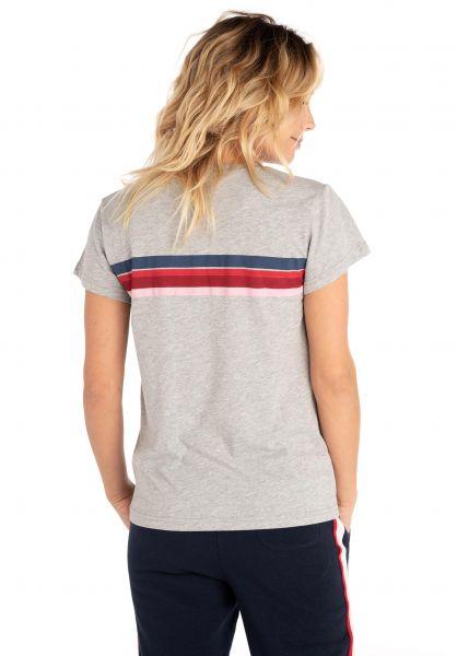 Rip Curl T-Shirts Wetty Stripe cementmarle vorderansicht 0320264