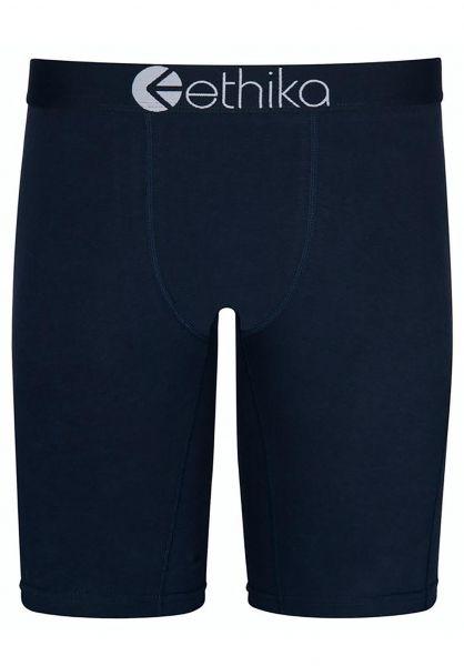 Ethika Unterwäsche Iris Blue Staple blue vorderansicht 0213297