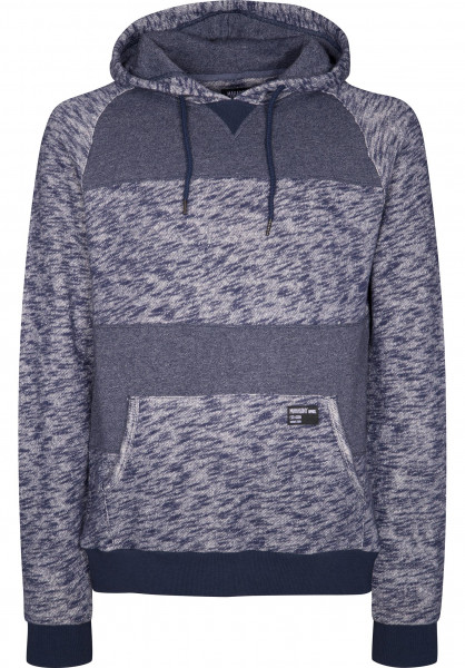 Mahagony Hoodies Loop Back navy Vorderansicht
