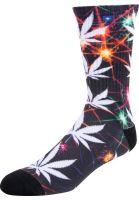 HUF Socken Plantlife All The Lights black vorderansicht 0631629