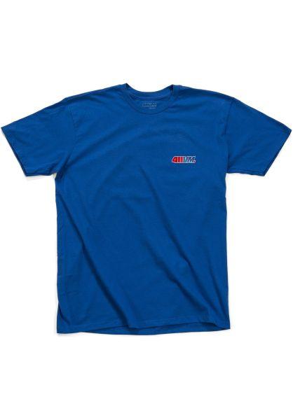 Transworld T-Shirts 411VM Embroidered blue vorderansicht 0399634