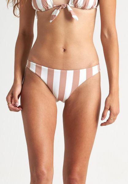 Billabong Beachwear Shady Sands Tropic Bikini-Bottom khaki-sand vorderansicht 0205359