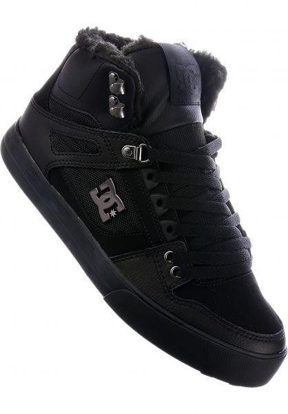 DC Shoes Alle Schuhe Pure HT WC WNT black-black-black Vorderansicht 0604440
