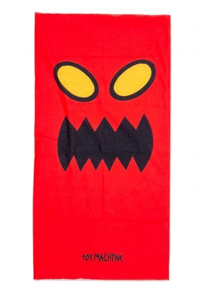 Toy-Machine Mützen Monster Balaclava red vorderansicht 0572608