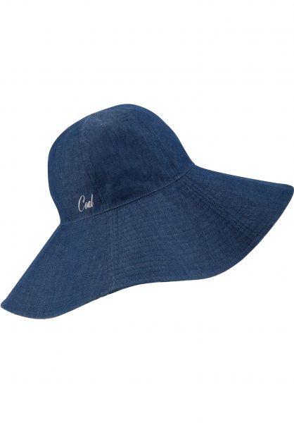 coal Hüte The Anita blue-floral Vorderansicht