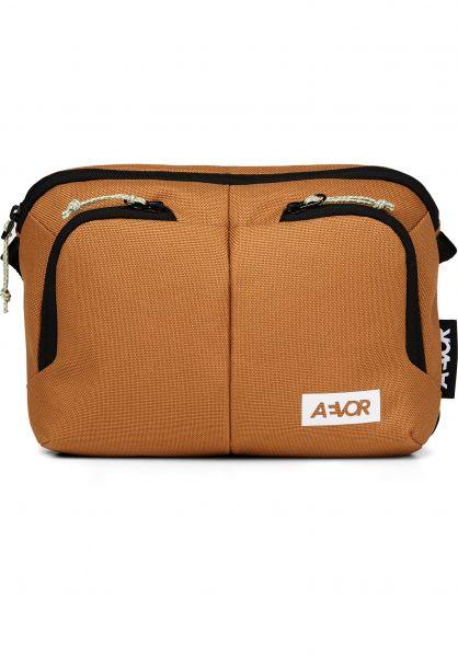 AEVOR Taschen Sacoche Bag canvasbrown vorderansicht 0891700