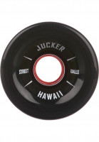 Jucker Hawaii Rollen Big Balls 80A black Vorderansicht