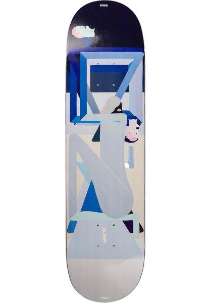 UMA Landsleds Skateboard Decks Colman Maite lightblue vorderansicht 0267194