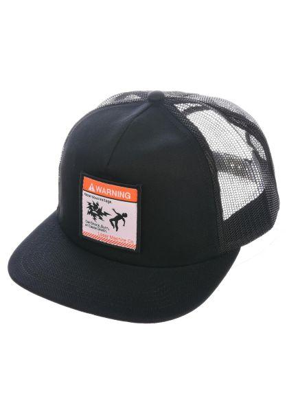 Loser-Machine Caps Dues Paid black vorderansicht 0566237