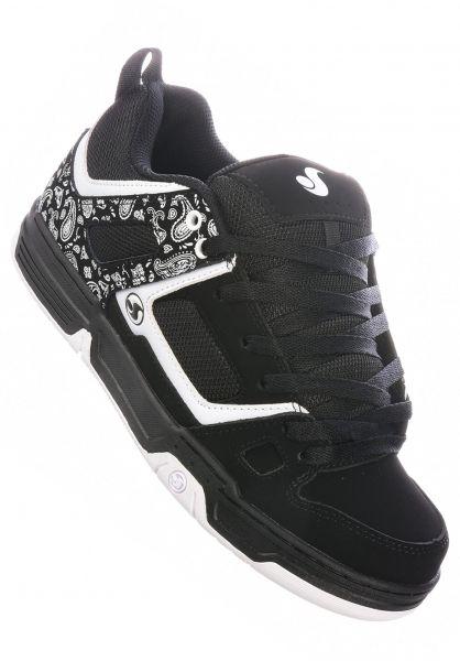 DVS Alle Schuhe Gambol black-white vorderansicht 0605019
