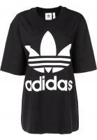 adidas T-Shirts Oversized black Vorderansicht