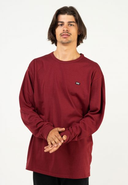 Vans Longsleeves Off The Wall Classic pomegranate vorderansicht 0383679