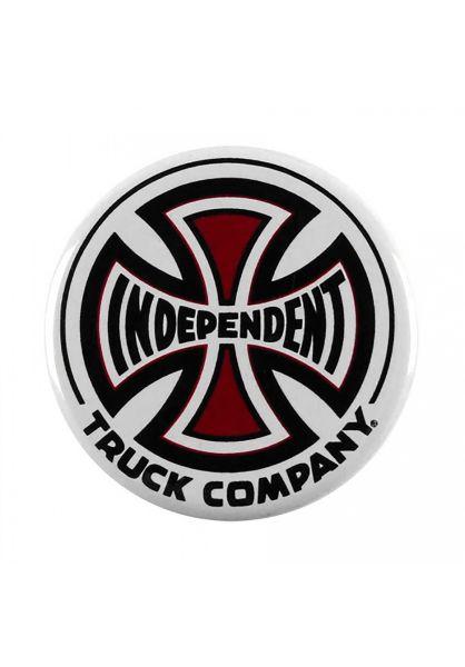 Independent Verschiedenes Truck Co. Pin black-red-white vorderansicht 0972051