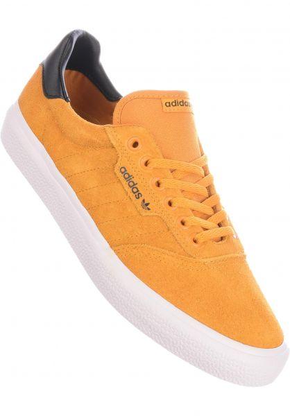 adidas-skateboarding Alle Schuhe 3MC yellow-coreblack-white vorderansicht 0604427