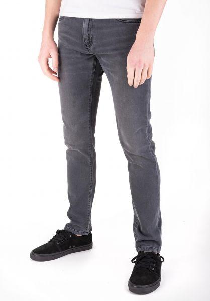 Carhartt WIP Jeans Rebel Pant (Margate) blackshorebleached vorderansicht 0269055