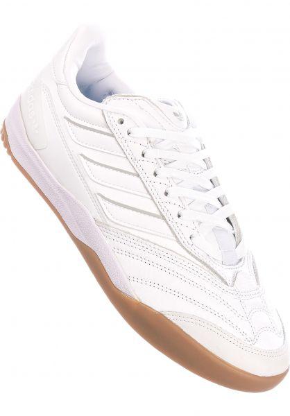 adidas-skateboarding Alle Schuhe Copa Nationale white-silver-gum vorderansicht 0604790