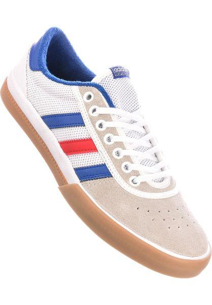 adidas-skateboarding Alle Schuhe Lucas Premiere white-royal-red vorderansicht 0604335