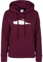 Atticus Hoodies Staple burgundy Vorderansicht