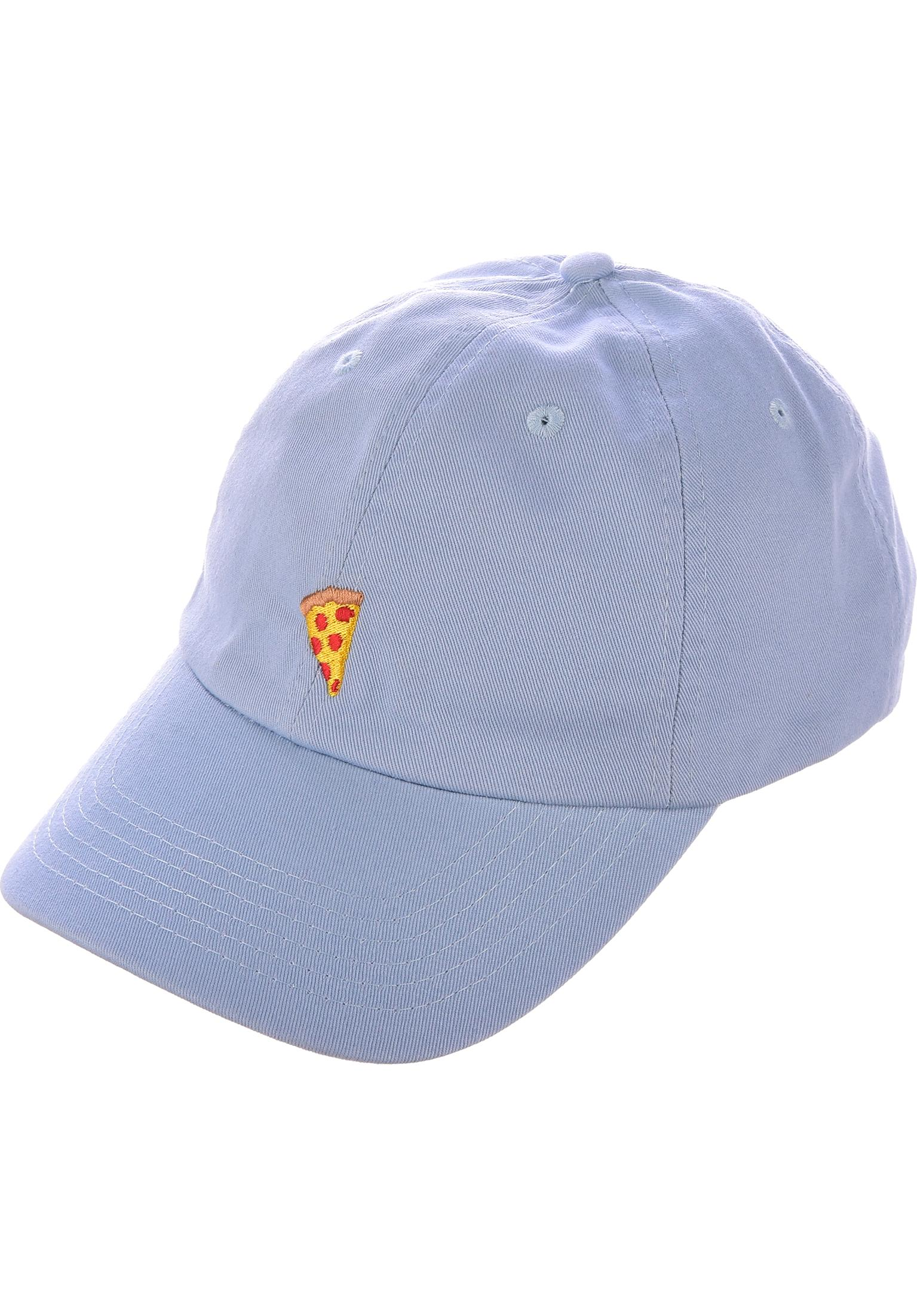cf649da5a16a3 Emoji Dad Hat Pizza Skateboards Caps in babyblue for Men