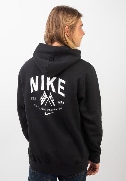 Nike SB Hoodies Hooded Top black-summitwhite vorderansicht 0445562
