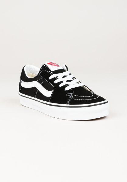 Vans Alle Schuhe SK8-Low black-truewhite vorderansicht 0612547