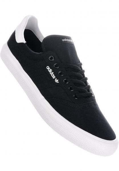 adidas-skateboarding Alle Schuhe 3MC coreblack-coreblack-white vorderansicht 0604427