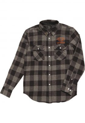 Dark Seas x Grundens Flannel