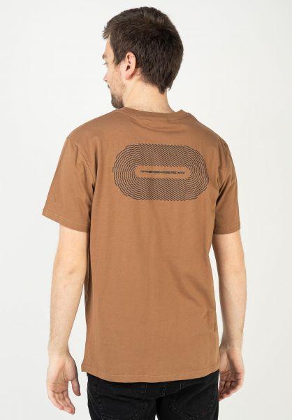 Rhythm T-Shirts Track almond vorderansicht 0323914