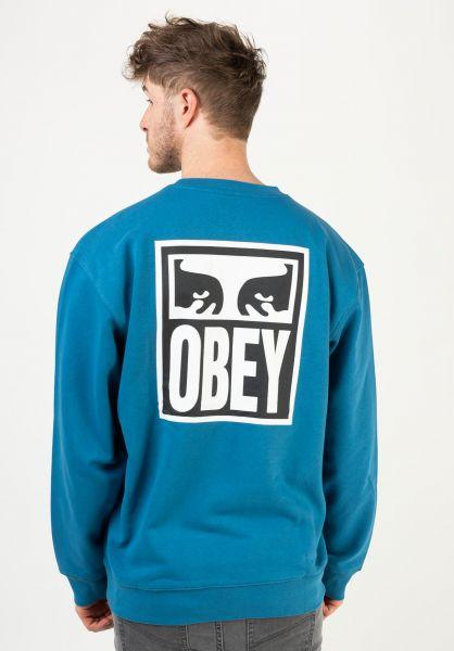 OBEY Sweatshirts und Pullover Obey Eyes Icon 2 sapphireblue vorderansicht 0423026