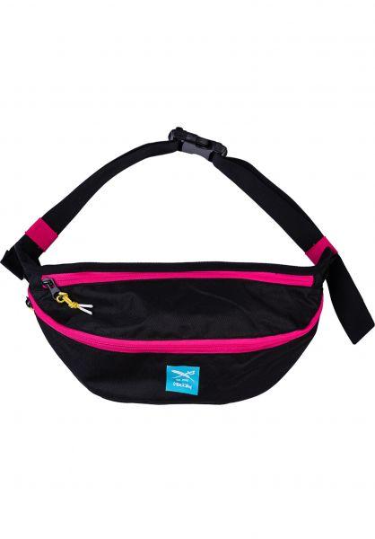 iriedaily Hip-Bags Contraster Big black vorderansicht 0169117